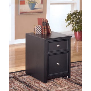 Signature Design by Ashley Carlyle Black File Cabinet