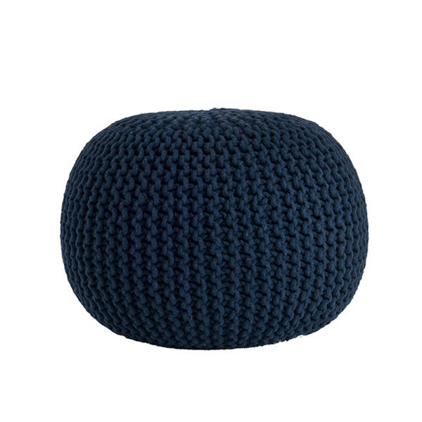 Cotton Twisted Rope Pouf 19792906