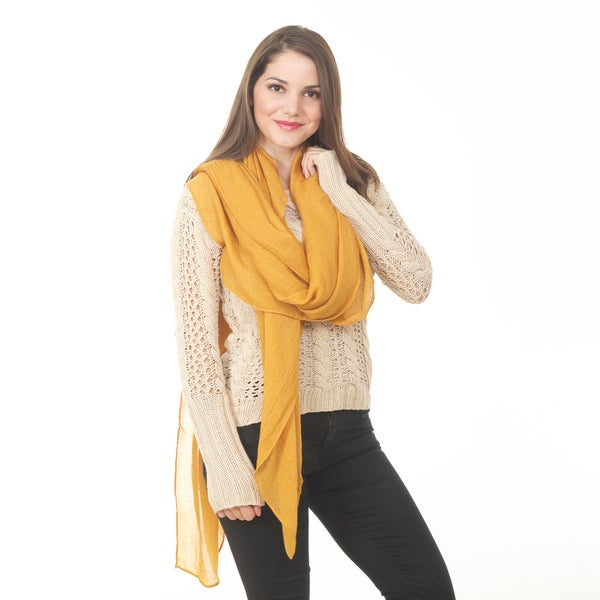 Women's Classic Design Long Shawl