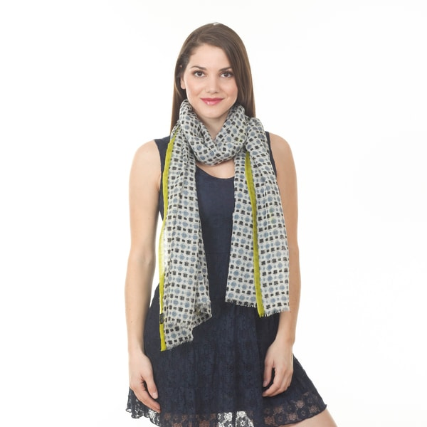 Geo Design Shawl