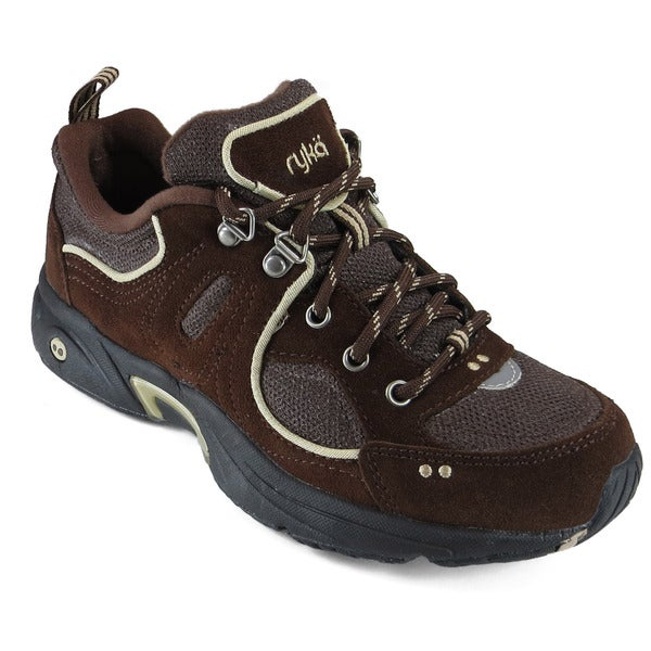 Ryka Women's RTC Walk Outdoor Suede/ Lo Athletic Shoes