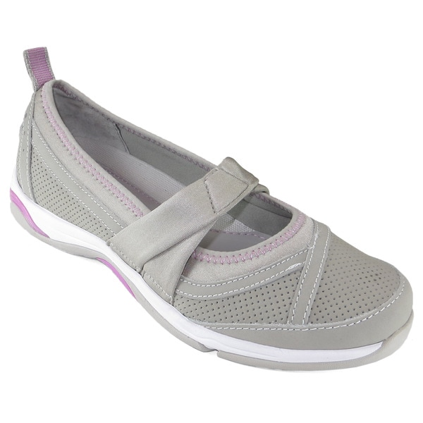 Ryka Women's Tensil Skimmer Twist Grey Athletic Flats