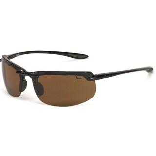 Coleman 'Vizor' Rimless Sport Frame Sunglasses