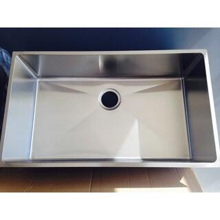 Starstar Single Bowl Undermount 16 Gauge 304 Stainless Steel Kitchen Sink