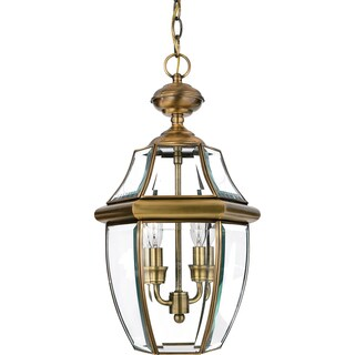 Newbury Antique Finish Medium 2-light Hanging Lantern