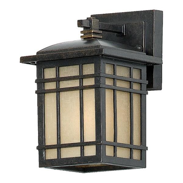 Hillcrest 1-light Imperial Bronze Small Wall Lantern 13943806