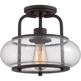 Trilogy 1-light Small Semi Flush Mount