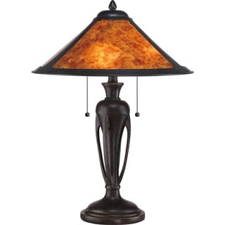 Mica Flagstaff 2-light Imperial Bronze Table Lamp