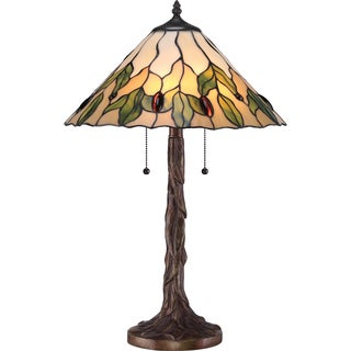 Tiffany 2-light Campton Table Lamp
