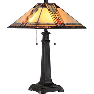 Tiffany 2-light Aberdeen Imperial Bronze Table Lamp