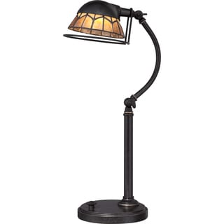 Vivid Collection Whitney Imperial Bronze LED Desk Lamp