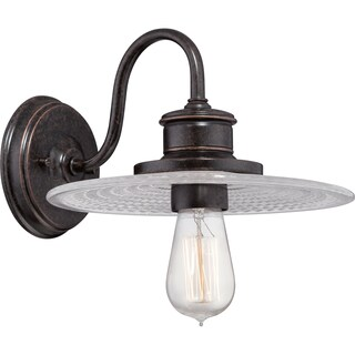 Admiral Imperial Bronze Single-light Wall Sconce