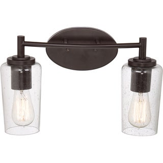 Edison 2-light Western Bronze Bath