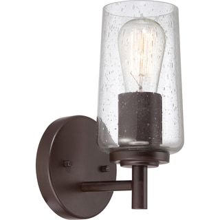 Edison Single-light Western Bronze Bath Fixture