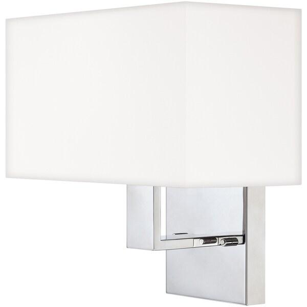 Remi Single-light Polished Chrome Wall Sconce