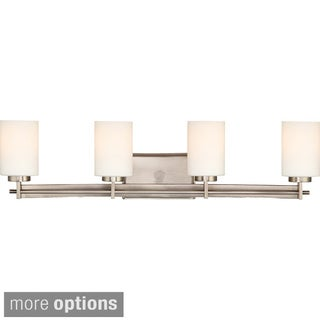 Taylor 4-light Antique Nickel Vanity