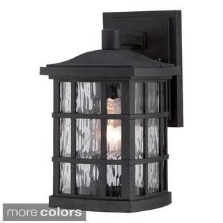 Quoizel 'Stonington' 1-light Small Wall Lantern