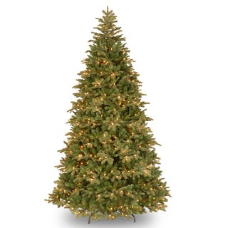 7.5-foot Feel-Real Northern Balsam Hinged Tree with 750 Clear Lights