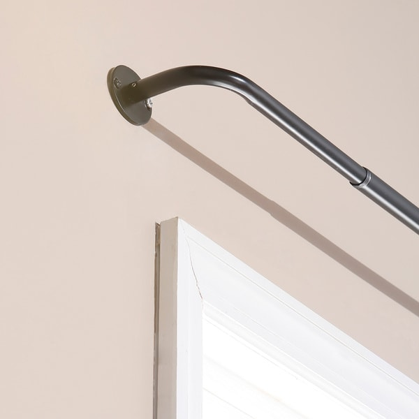 Aurora Home Wraparound Blackout Curtain Rod (As Is Item)