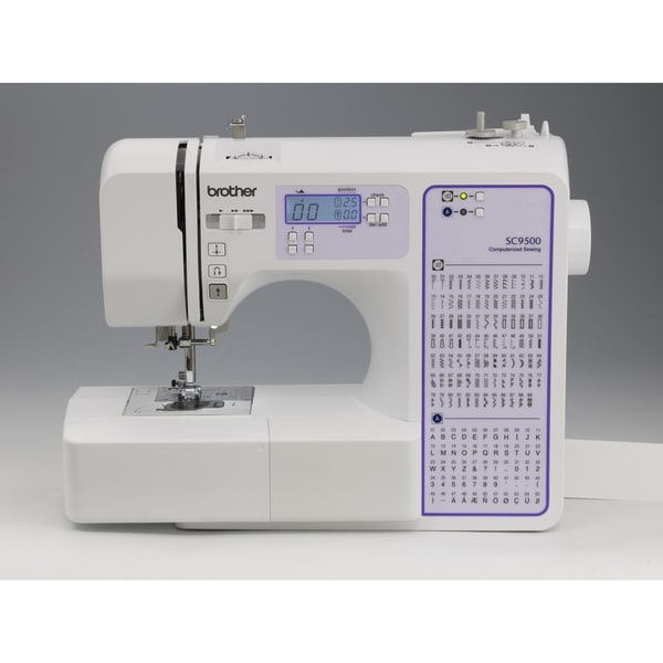 Brother SC9500 90-Stitch Computerized Sewing and Quilting Machine (Refurbished)
