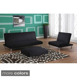 Klik-Klak Canvas Upholstered Sofa Bed