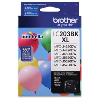 Brother LC203BK Ink Cartridge - Black