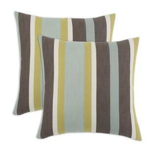 Cape Cod 17-inch KE Fiber Throw Pillow (Set of 2)