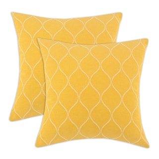 Oh Gee Topaz 17-inch Decorative Pillow (Set of 2)