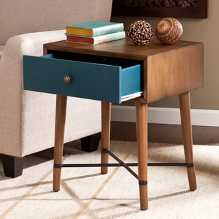 Upton Home Niles Blue Accent Table