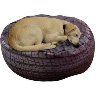Dogzzzz Round Large Tire Dog Bed