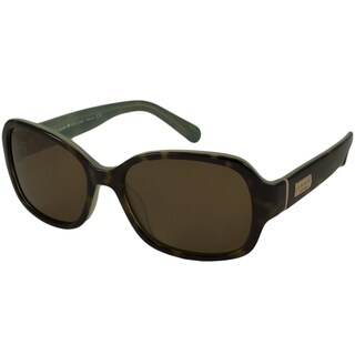 Kate Spade Women's Akira P Polarized/ Rectangular Sunglasses
