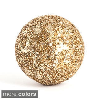 Seed Bead Decorative Ball (Set of 4)