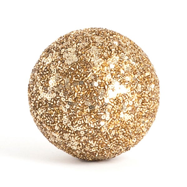 Seed Bead Decorative Ball (Set of 4)