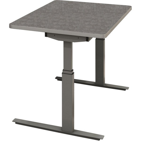Maylie Rge 48 Inch By 24 Inch Electric Height Adjustable Table