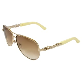 Jimmy Choo Women's 'Reese/S 3YGXY' Light Gold Aviator Sunglasses