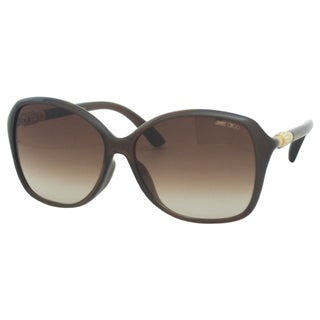 Jimmy Choo Women's Tina/F/S APKJD Brown Opal Square Sunglasses