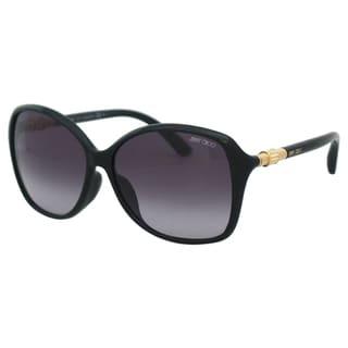 Jimmy Choo Women's Tina/F/S D28HD Shiny Black Square Sunglasses