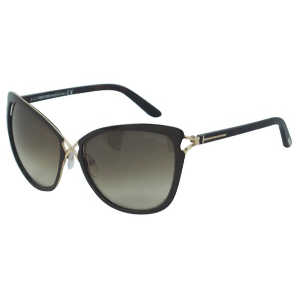 tom ford women 39 s ft0322 s celia 28f rose gold cateye sunglasses. Cars Review. Best American Auto & Cars Review