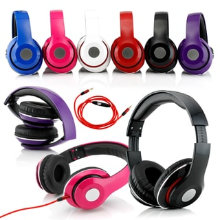 Gearonic Headphones with Built-in Microphone for iPhone iPad iPod MP3 MP4 PC