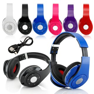 Gearonic Wireless Stereo Bluetooth Headphones and Volume Track Controls