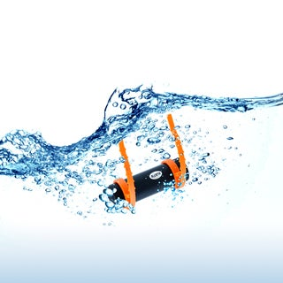 Gearonic 4GB Waterproof MP3 Music Player FM Radio Underwater Earphones