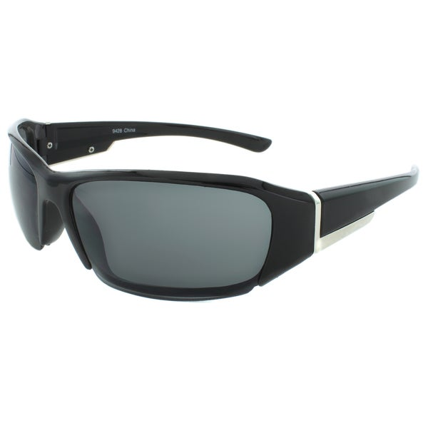 EPIC Eyewear Semi-rimless 62mm Wrap-around Sunglasses