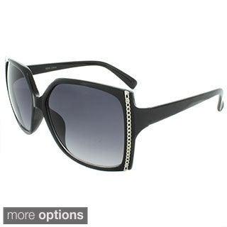 EPIC Eyewear Women's Chain Accent Sunglasses
