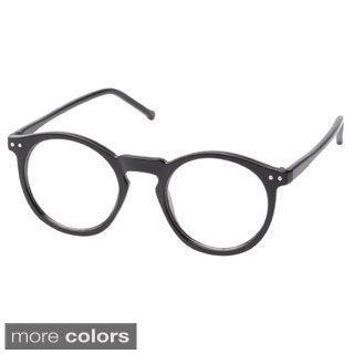 Epic Eyewear Unisex 'Clayton' Round Sunglasses