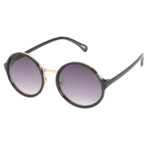 EPIC Eyewear Metal-insert Oval Sunglasses