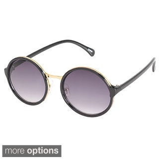 EPIC Eyewear Metal-insert Oval Sunglasses