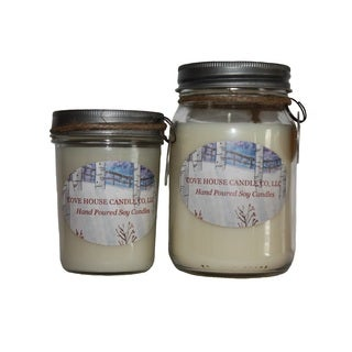 'Santa's Whiskers' 8 or 16-ounce Soy Container Candle