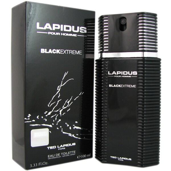 Ted Lapidus Black Extreme Men's 3.33-ounce Eau de Toilette Spray