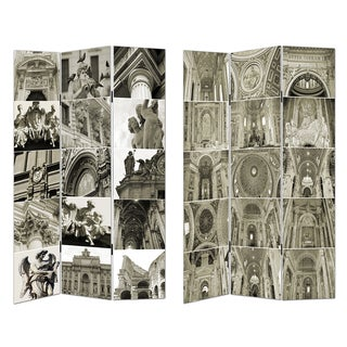 Architectural Themed Room Divider