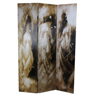 Naked Lady Canvas Room Divider